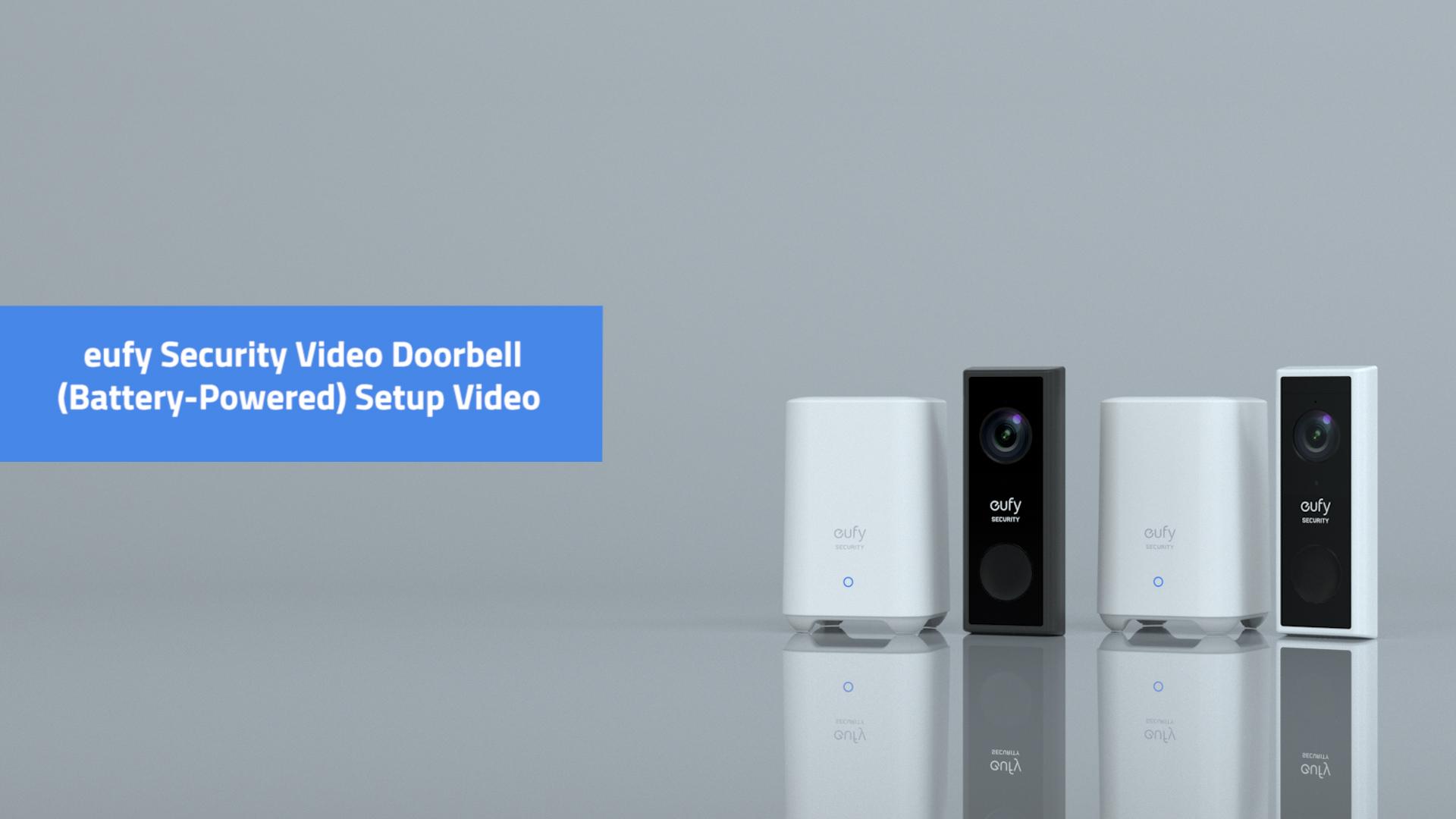 Eufy Video Doorbell 2k Battery Powered