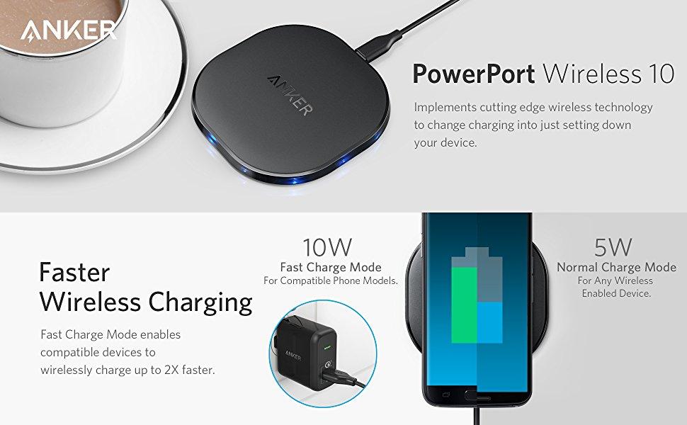 Anker | PowerPort Wireless 10