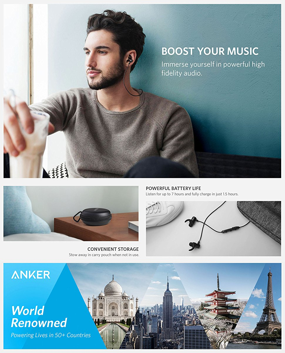 Anker Soundbuds Slim Taotronics Led Driver Wiring Diagram The Lightweight Earbuds That Power Your Workout