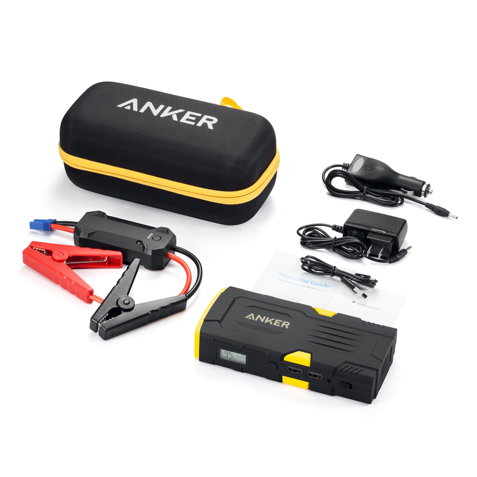 Anker A1531k11 Compact Car Jump Starter And Portable Charger 600mah Astro E7 26800 Mah Black A1210h12