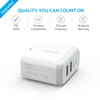anker - Chargers - PowerPort 2 Ports # 6