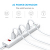 anker - Chargers - PowerPort Strip 6 Outlet 4 USB Port  # 4