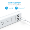 anker - Chargers - PowerPort Strip 6 Outlet 4 USB Port  # 5