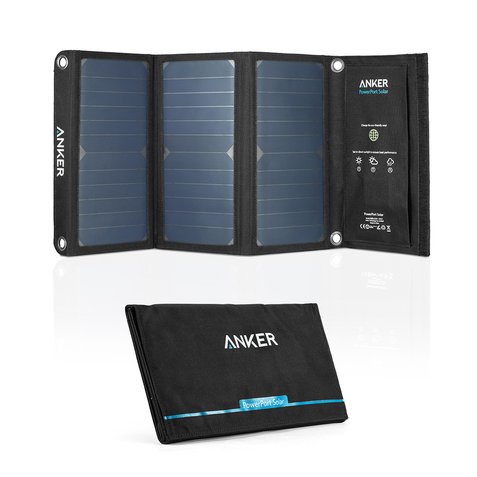 anker - Chargers - PowerPort Solar 2 Ports # 1