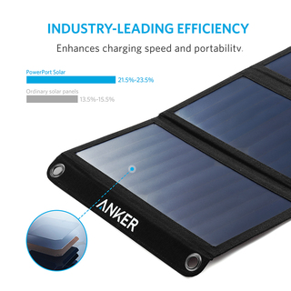 anker - Chargers - PowerPort Solar 2 Ports # 3
