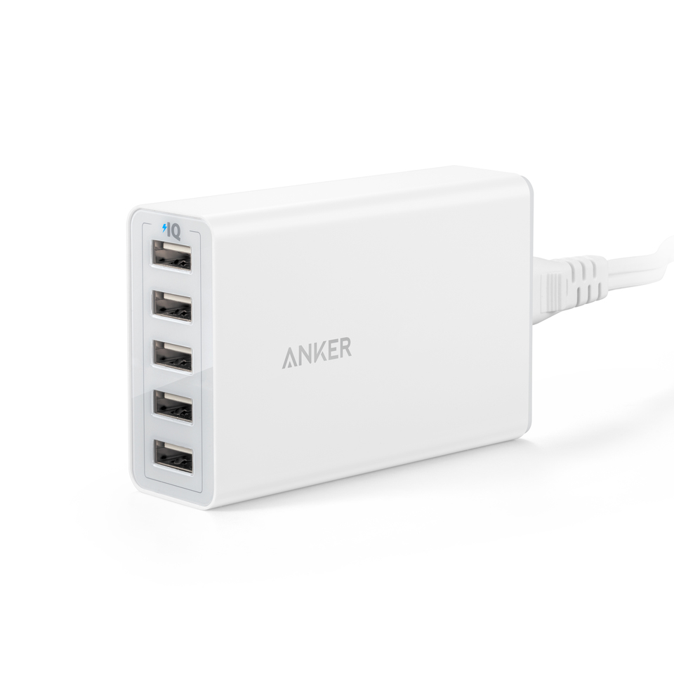 anker - Chargers - PowerPort 5 Ports # 1