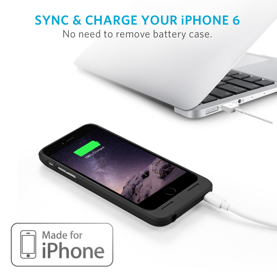 iphone 6 charger case anker