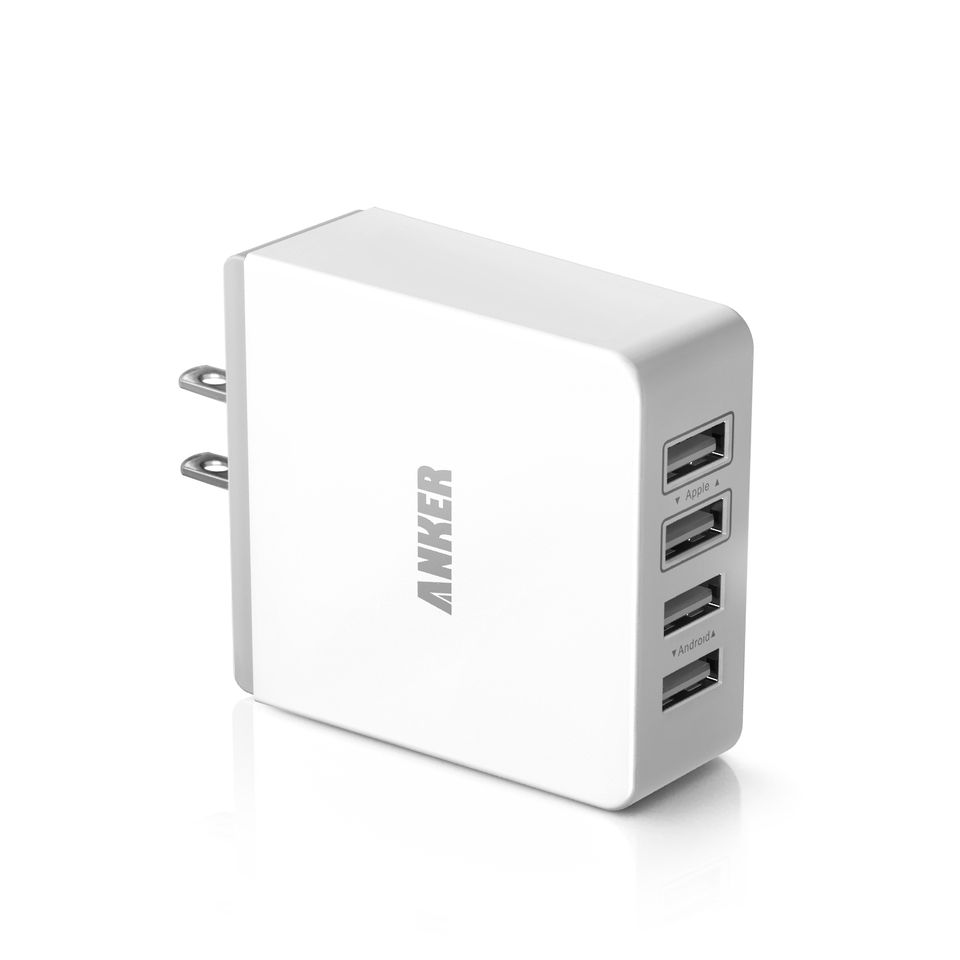 anker - Chargers - 4 Port Wall Charger, 36W # 1