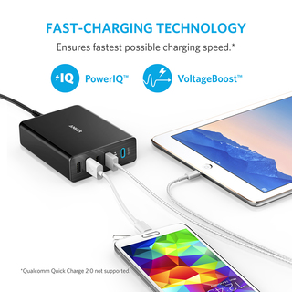 anker - Chargers - PowerPort+ 5 Ports USB-C  # 5