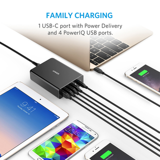 anker - Chargers - PowerPort+ 5 Ports USB-C  # 4