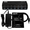 anker - Data Hub - 7-Port Hub with 36W Power Adapter USB 3.0 # 6