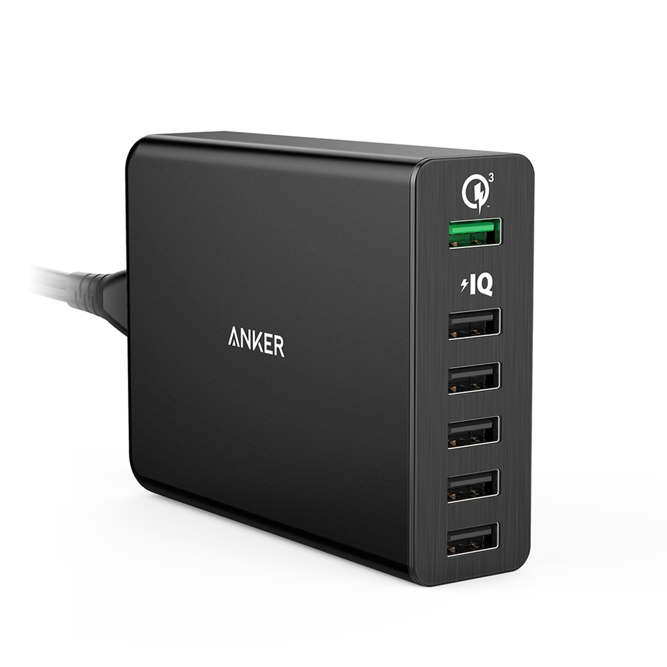 anker - Chargers - PowerPort+ 6 Ports # 1