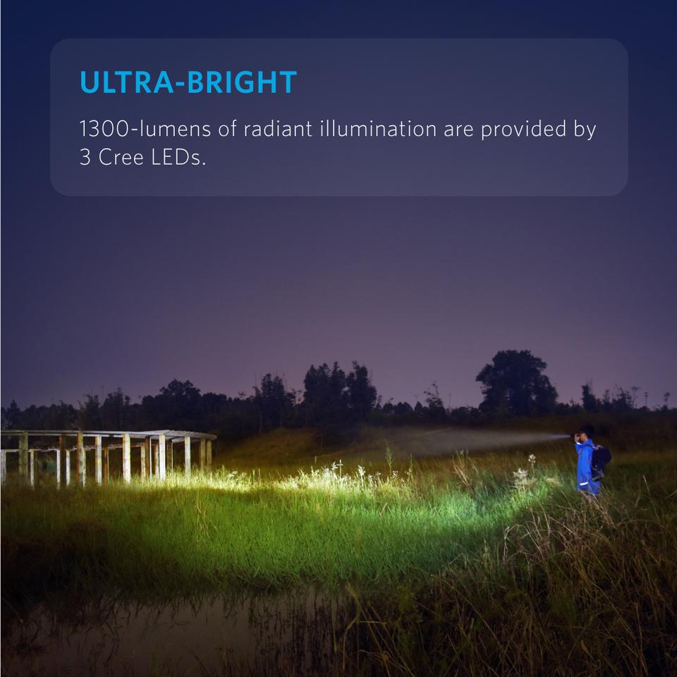 LC130 Flashlight