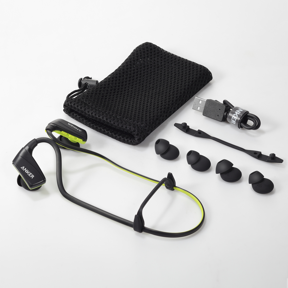 e608a6d207f Sport Earbuds 12mm Audio Drivers with IPX4 Sweat-Proof Secure Fit and  Adjustable Neckband for Work Out, Gym, and Running. Anker. SoundBuds Sport  NB10 ...