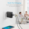 anker - Chargers - PowerPort Speed 4 Ports # 8