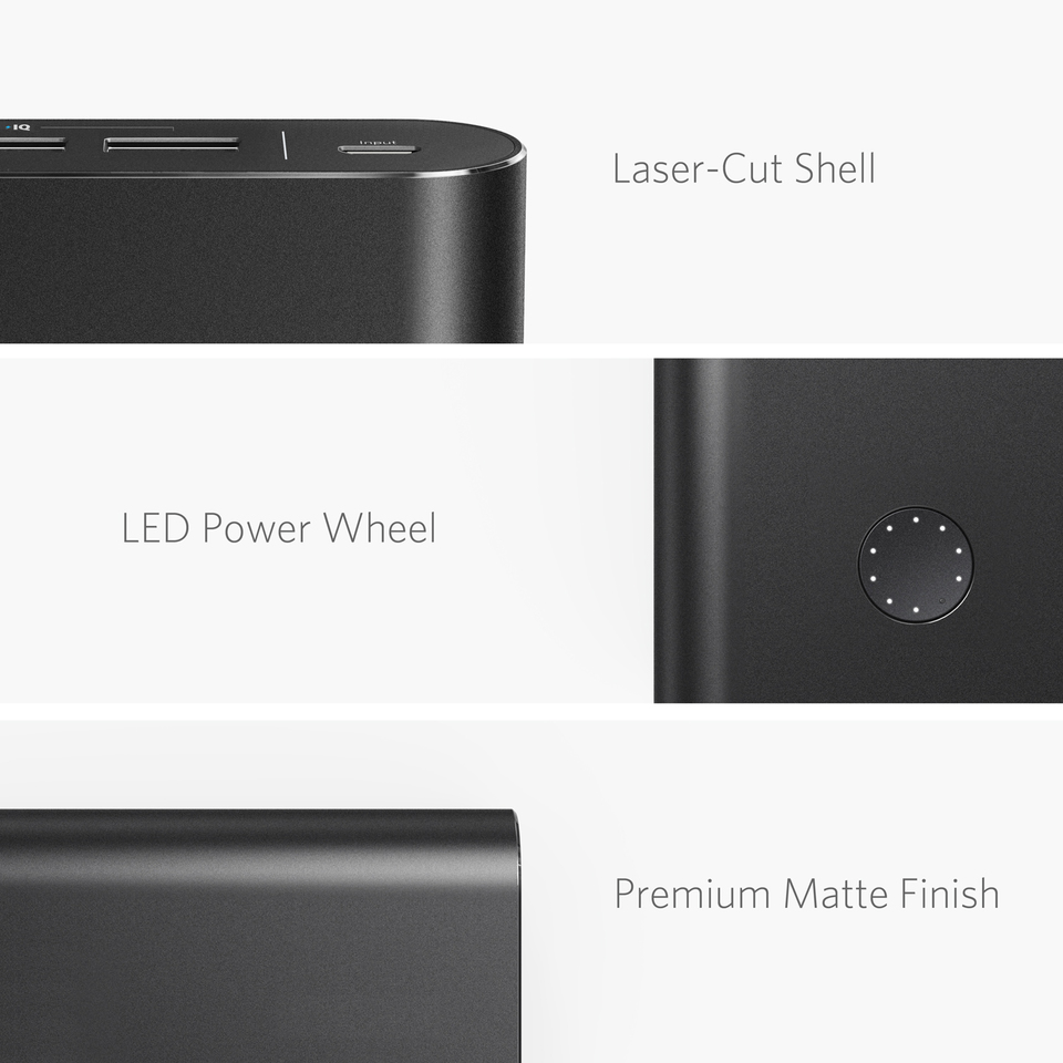 Anker PowerCore+ 26800 Power Bank with Qualcomm Quick Charge 3.0 17