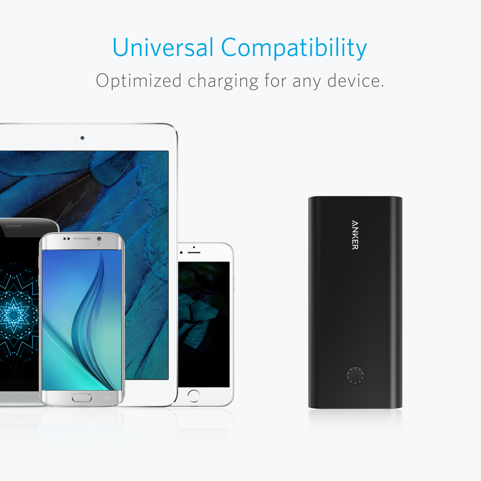 Anker PowerCore+ 26800 Power Bank with Qualcomm Quick Charge 3.0 20