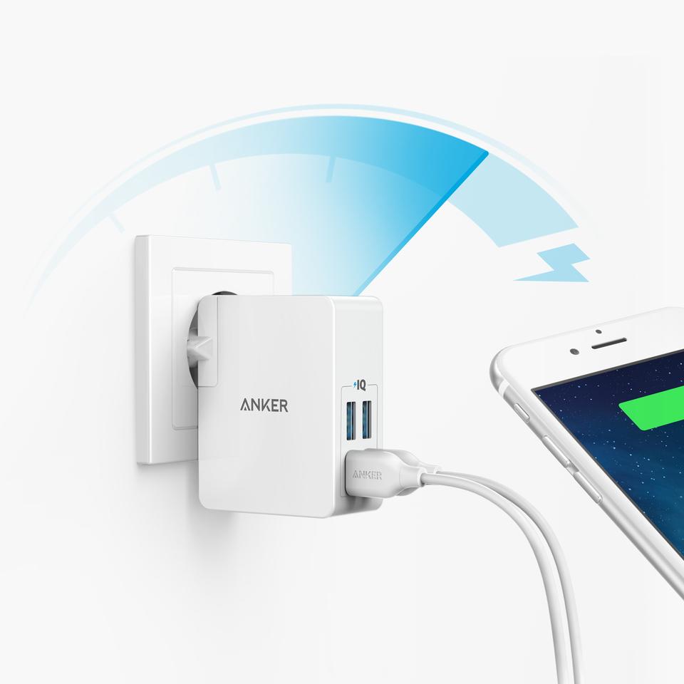 Anker | PowerPort Lite 4 Ports