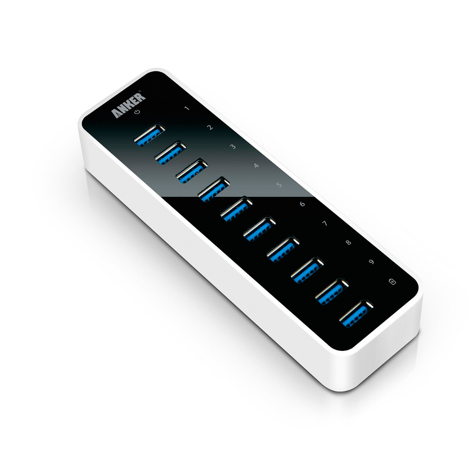 Anker Usb 3 0 Superspeed 10 Port Hub