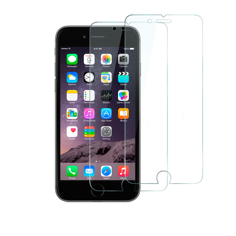 iphone glass protector anker tempered glass screen protector for iphone 6 2 pack 1897