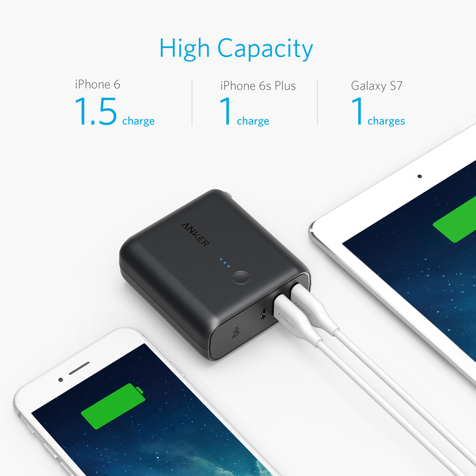 Anker Powercore Fusion P 03 Samsung Travell Charger Branded Asus 21a Micro Usb The High Speed Portable Wall