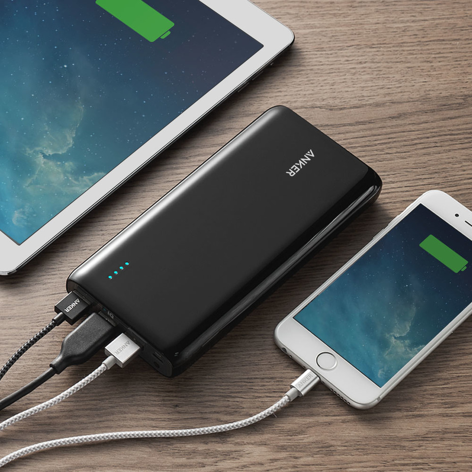 Anker Astro E7 26800mah Portable Charger Mobile Phone And Ipod Battery Circuit Diagram Ultra High Capacity 3 Port 4a Compact External Power Bank With Poweriq Technology For Iphone Ipad Nintendo Switch More