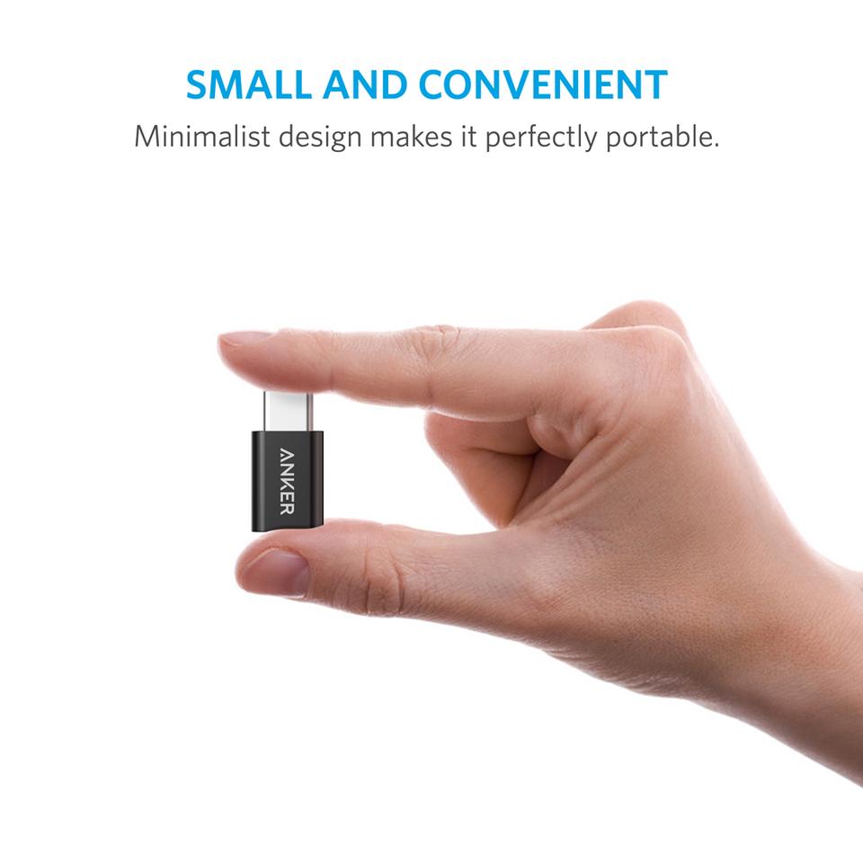 anker 2 pack powerline usb c auf micro usb adapter. Black Bedroom Furniture Sets. Home Design Ideas