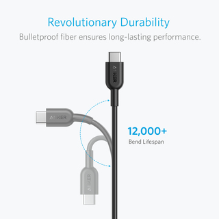 anker - Cables - PowerLine II 6ft USB-C to USB-C 2.0 # 2