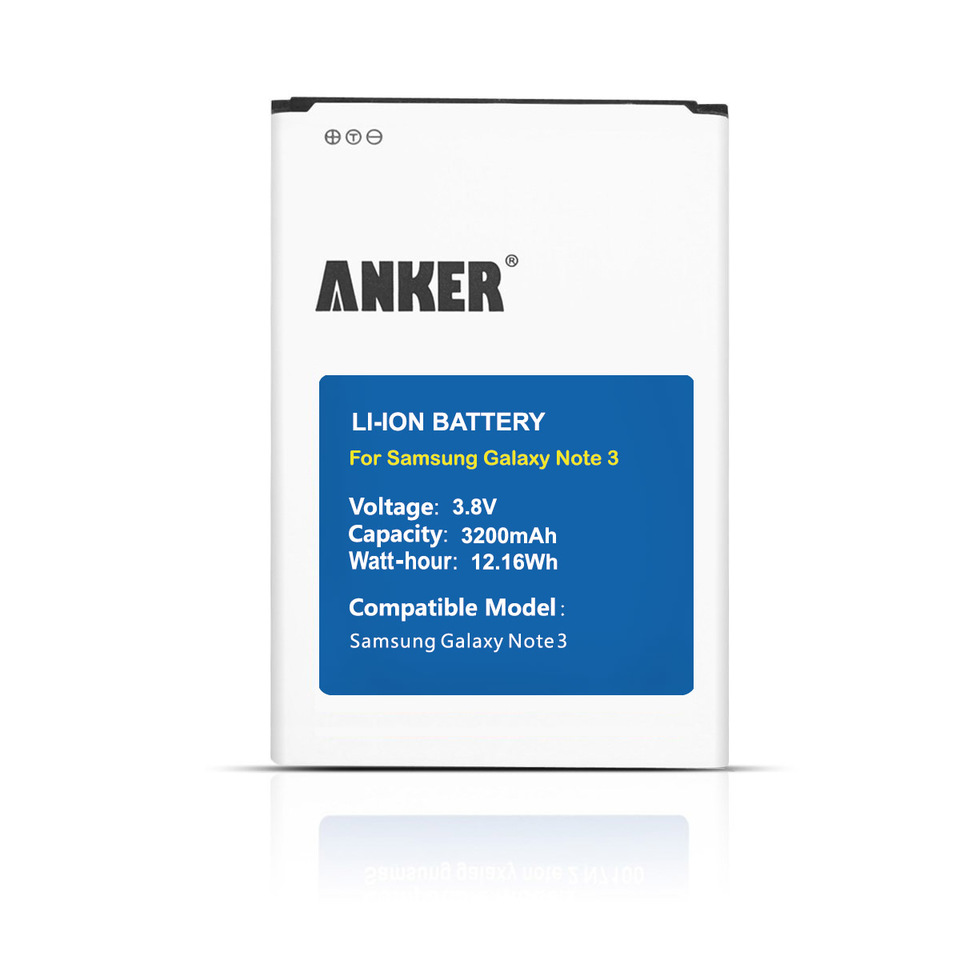 Samsung galaxy battery s3 verizon - Anker Replacement Batteries Samsung Galaxy Note 3 3200mah Li Ion Battery 1