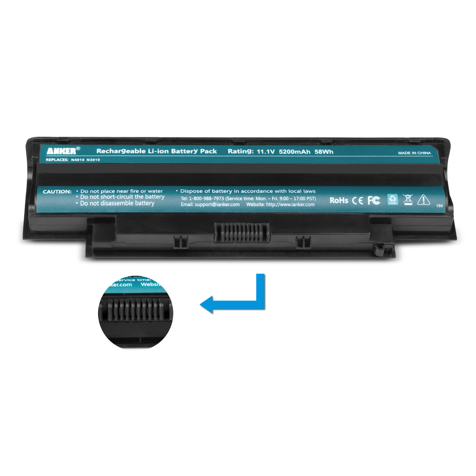Anker   Dell Inspiron 5200mAh Li-ion Battery