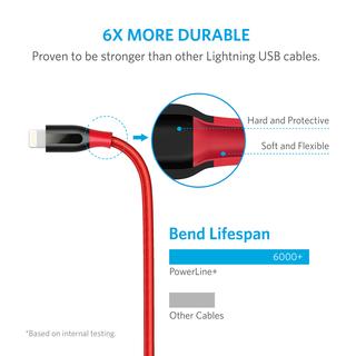 anker - undefined - PowerLine+ 6ft Lightning # 3