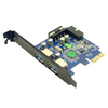 anker - undefined - Uspeed PCI-E to USB 3.0 2 Port Express Card # 3