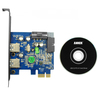 anker - undefined - Uspeed PCI-E to USB 3.0 2 Port Express Card # 5