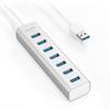 anker - Data Hub - Aluminum 7-Port USB 3.0 Hub # 2