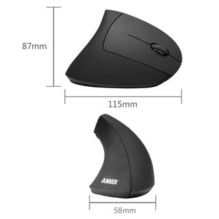 anker - Interface - 2.4G Wireless Vertical Ergonomic Mouse # 4