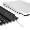 anker - Interface - Ultra-Slim Bluetooth Wireless Aluminum Keyboard & Cover for iPad mini 3 / mini 2 / iPad mini # 4