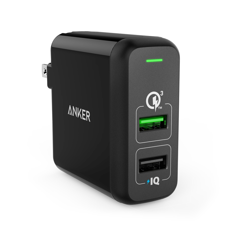 anker - undefined - PowerPort 2 Quick Charge 3.0 # 1