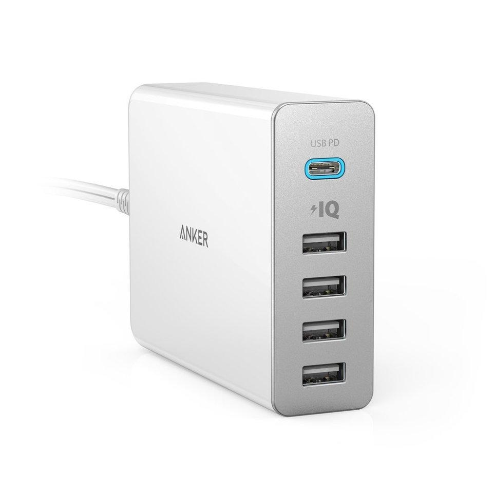 anker - 急速充電器 - PowerPort+ 5 USB-C USB Power Delivery # 1