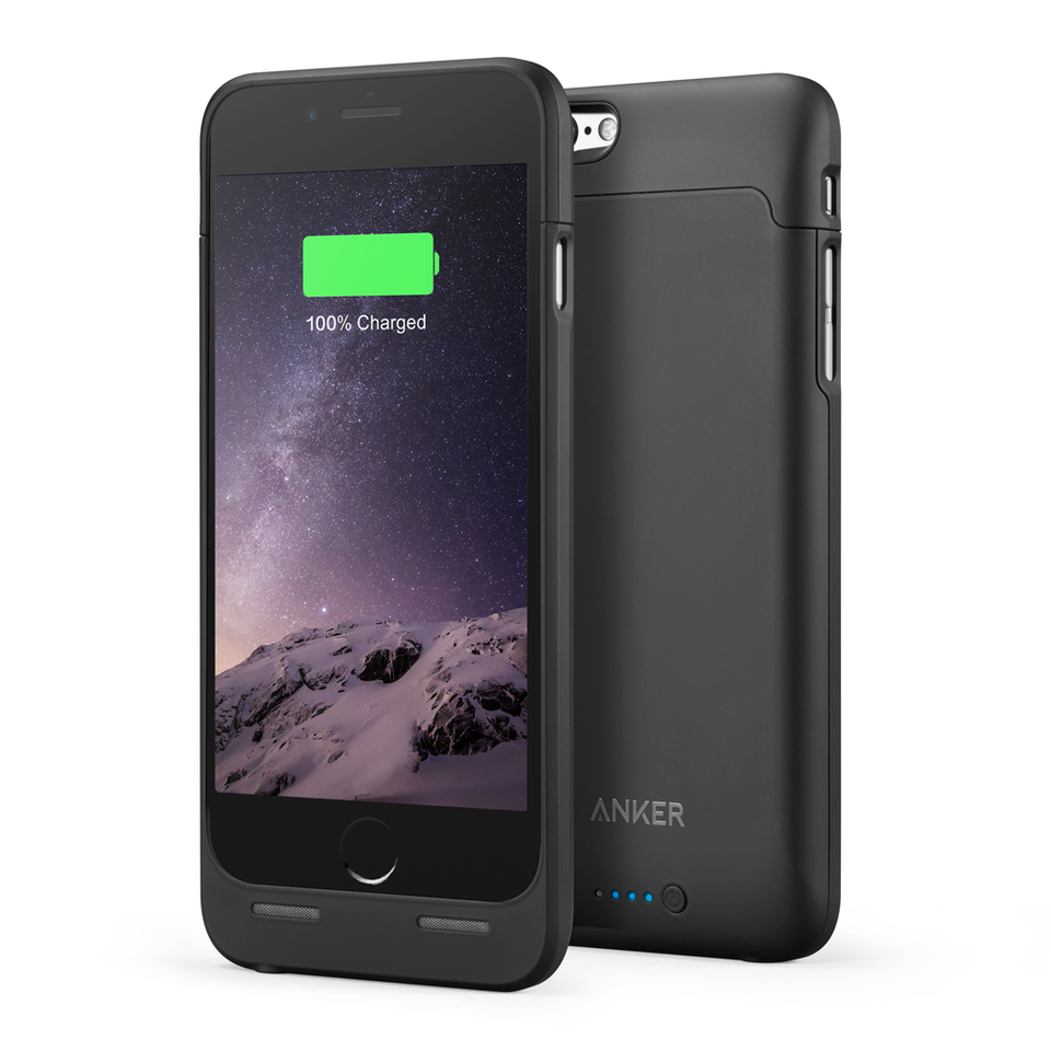 iphone y plus. anker - power banks battery case 2850mah iphone y plus