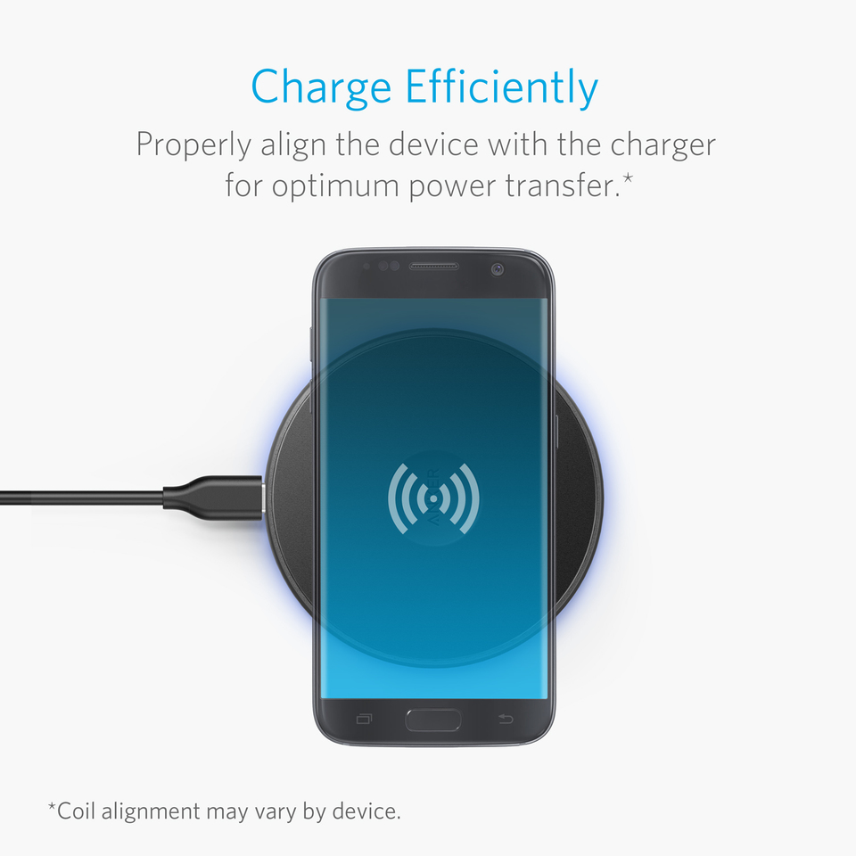 Anker Powerport Wireless 10 Samsung Original Charger S8 Plus Fast Charging With Usb C For Iphone 8 X Nexus 5 6 7 And Other Devices Provides Galaxy S7 Edge