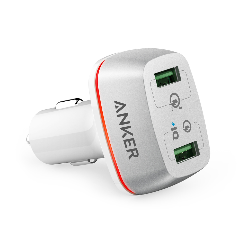 anker - Chargers - PowerDrive+ 2  Ports # 1