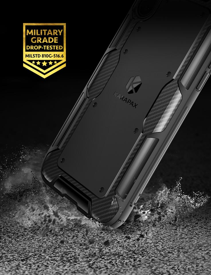 premium selection 3d5f9 6d1b4 Anker KARAPAX Shield Case for iPhone X
