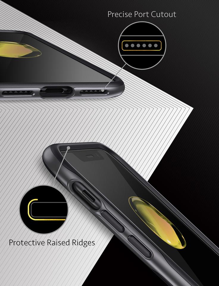 the best attitude 97e00 a7627 Anker KARAPAX Breeze Case for iPhone X