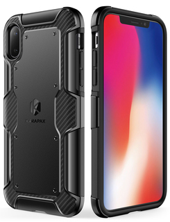 anker - Protection - Anker KARAPAX Shield+ Case for iPhone X # 8