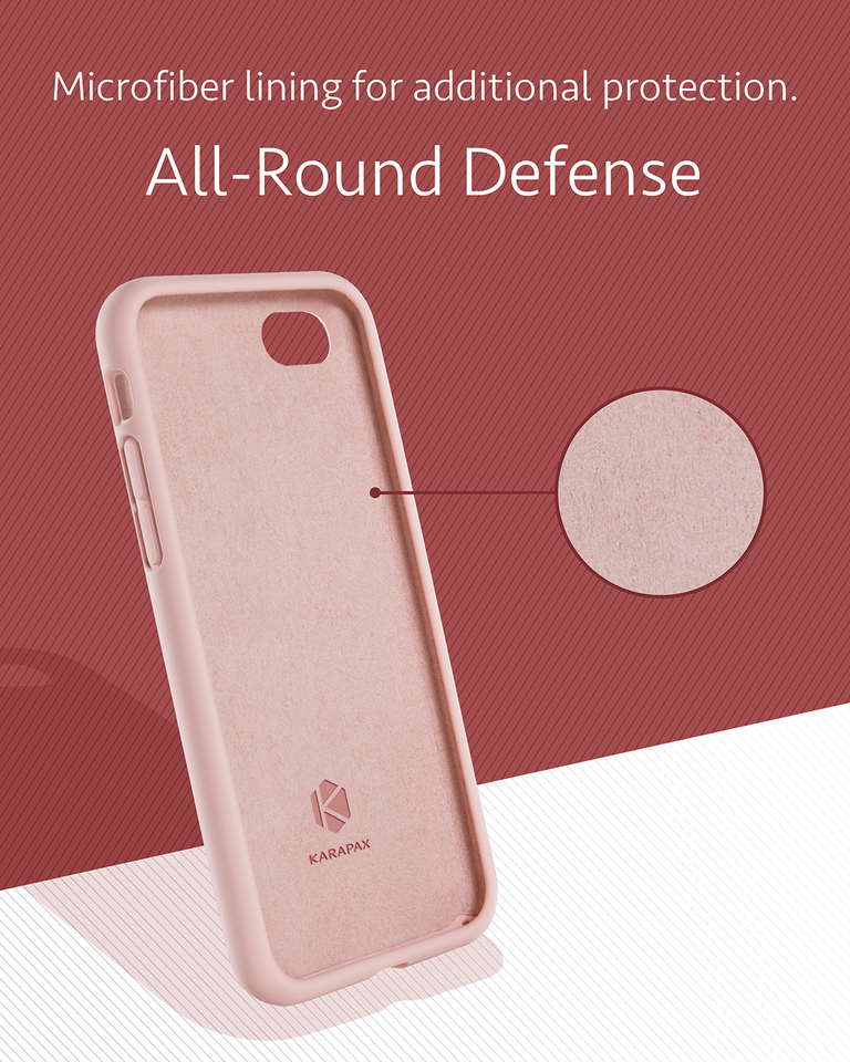 more photos 17607 6a237 Anker | Anker KARAPAX Silicone Case for iPhone 8 / 7