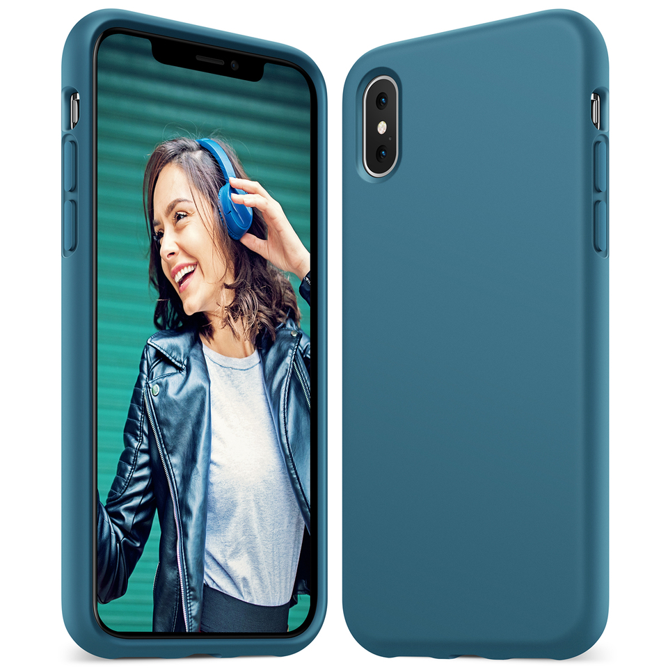 anker - Protection - Anker KARAPAX Silicone Case for iPhone X # 1