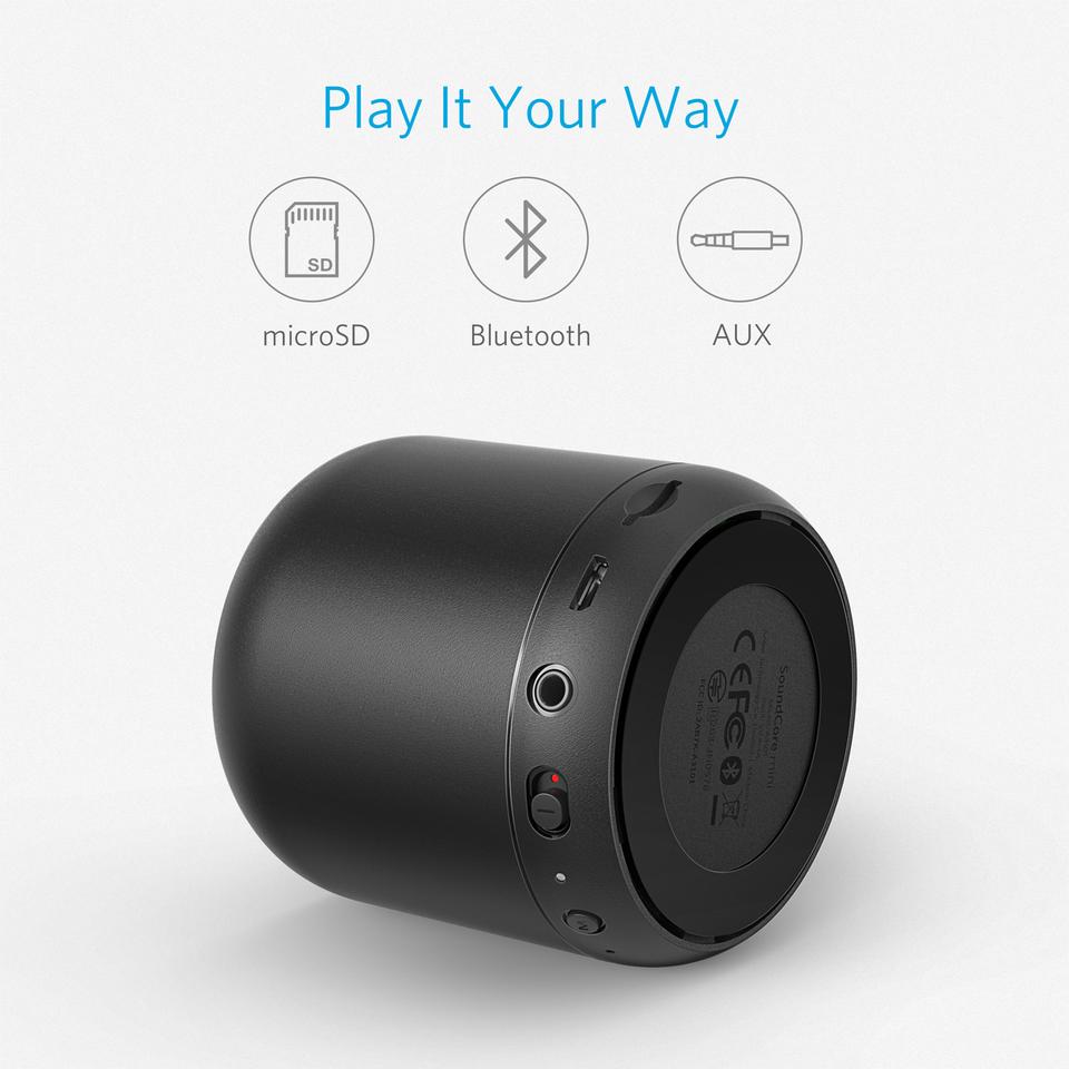 376bceb6a6a65c Consumer Electronics Portable Audio & Headphones Ultra Slim Bluetooth  Speaker FM Radio Portable Pocket Mini 6 ...