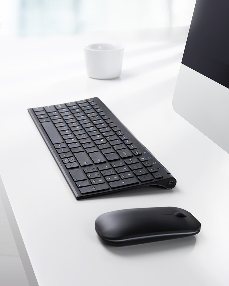 Anker | Anker 2 4GHz Wireless Keyboard and Mouse Combo