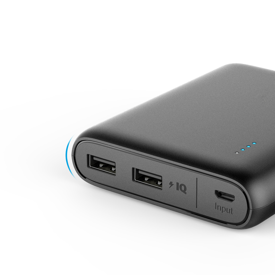 Anker Powercore 13000 Travel Charger Xiaomi 2ampere Micro Usb Original Compact 13000mah 2 Port Ultra Portable Phone Power Bank With Poweriq And Voltageboost Technology For Iphone Ipad Samsung Galaxy