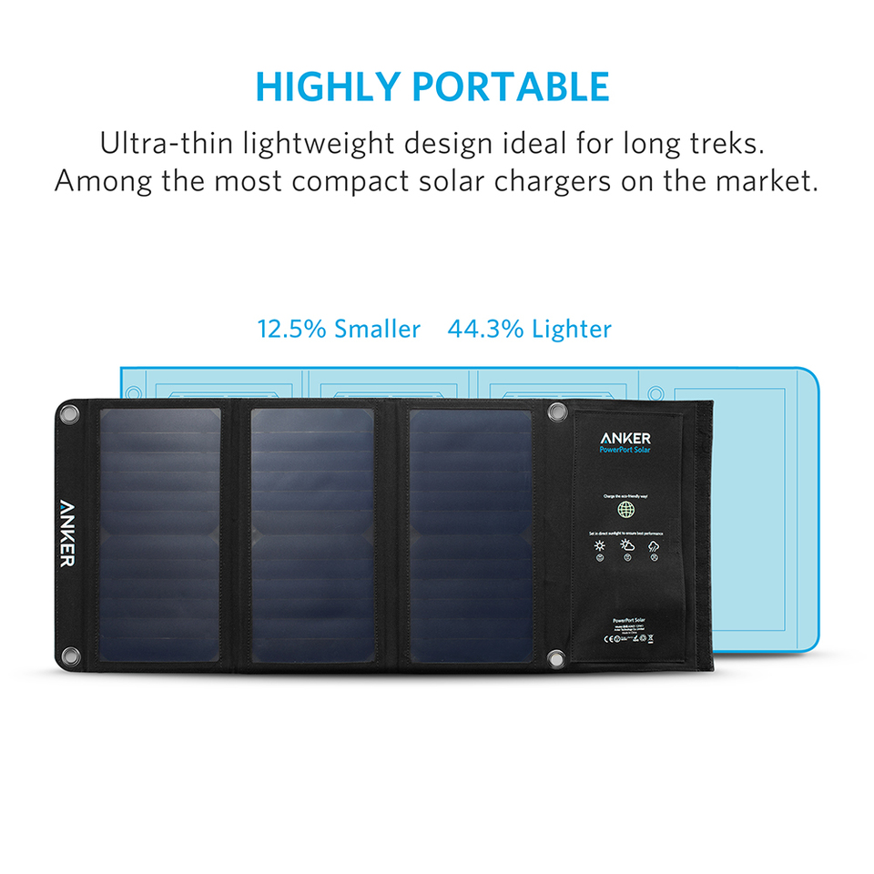 Anker Powerport Solar 2 It Take To Fully Charge With The Panel Circuit Schematic 3 21w Dual Usb Charger For Iphone 7 6s Plus Ipad Pro Air Mini Galaxy S7 S6 Edge Note 5 4 Lg Nexus Htc And More